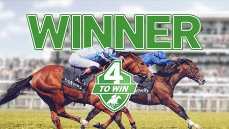 Betway Horse Racing 4 To Win