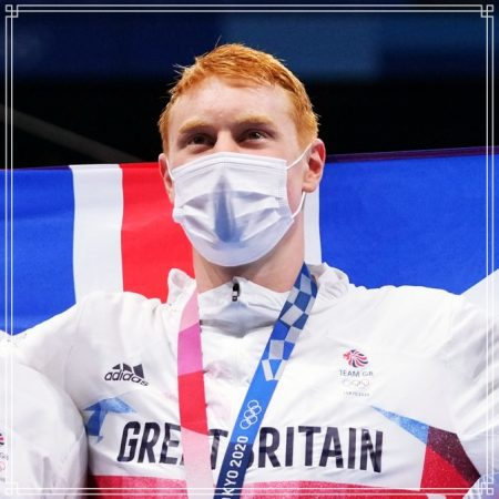 Britain Wins Gold and Silver in 200m Free