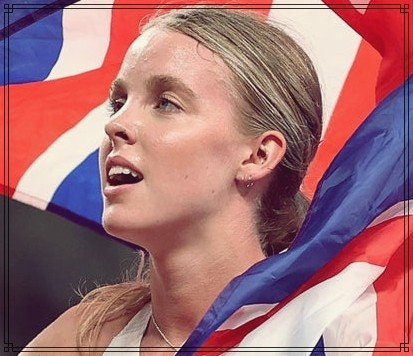 Keely Hodgkinson Wins 800m Silver at Olympics